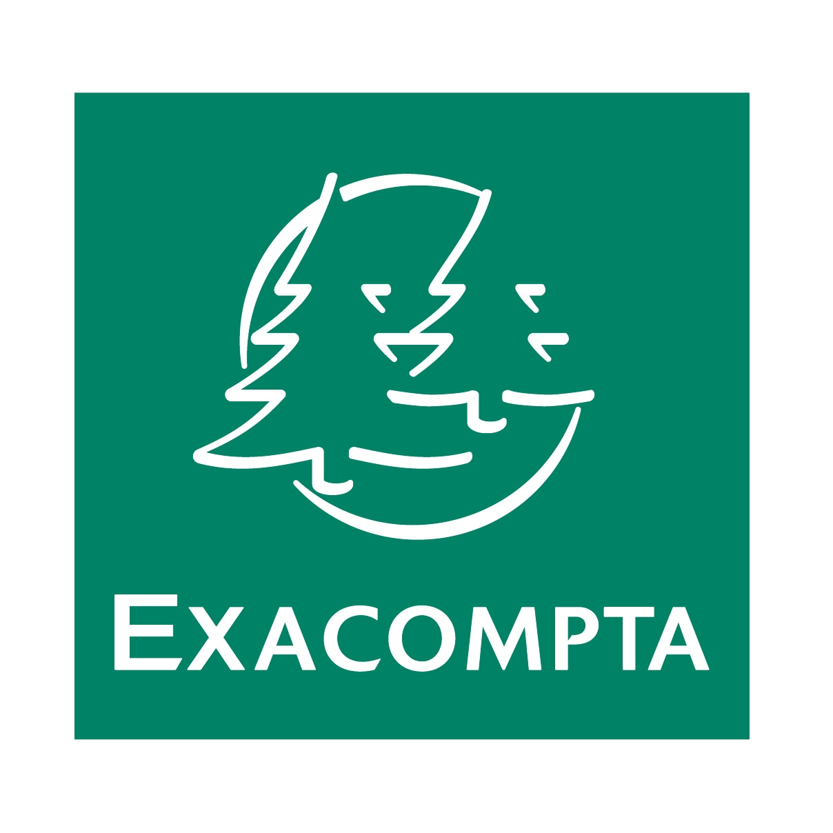 exacompta logo green FULL